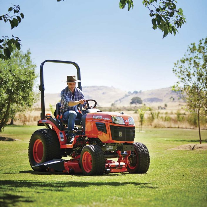 Kubota out front mower