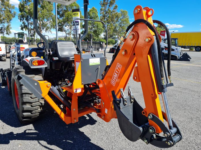 Regional Ag and Construction Bobcat CT2035 and Backhoe