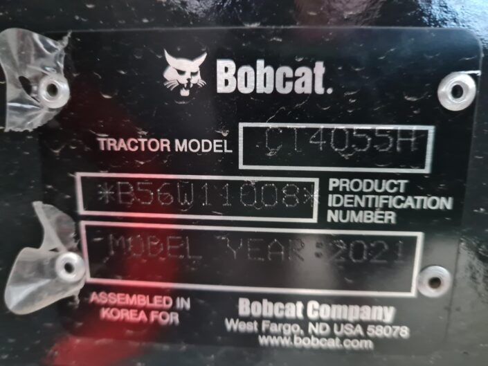 Regional Ag and Construction Bobcat Tractor CT4055