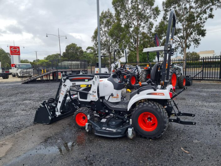 Regional Ag and Construction Bobcat CT1025 and mower
